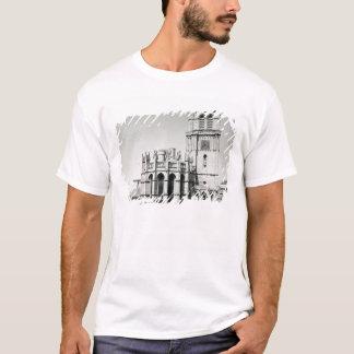 Beskåda av apsen och torn, byggt t shirt