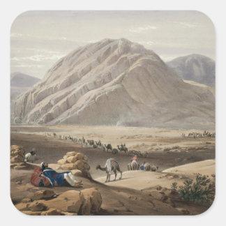 Beskåda av baba-Nauneeberg, från 'skissar I Fyrkantigt Klistermärke