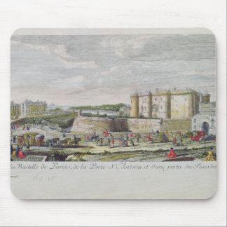 Beskåda av bastillen och Porten Sanktt-Antoine Musmatta