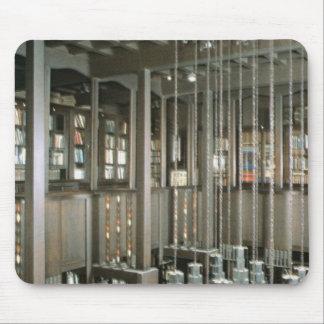 Beskåda av bibliotek, byggt 1897-99 musmatta