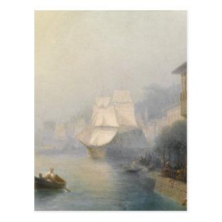 Beskåda av Bosporusen av Ivan Aivazovsky Vykort