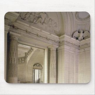 Beskåda av centralvestibulen, byggt 1642-51 mus mattor