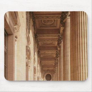 Beskåda av colonnaden av luftventilen musmatta