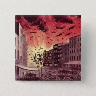 Beskåda av den fruktansvärdna explosionen på under standard kanpp fyrkantig 5.1 cm