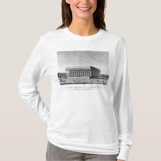 Beskåda av den imperialistiska slotten för börsen tee shirts