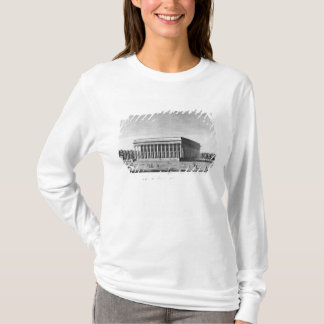 Beskåda av den imperialistiska slotten för börsen tröjor