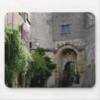 Beskåda av den Porte desen Ormeaux (fotoet) Musmatta