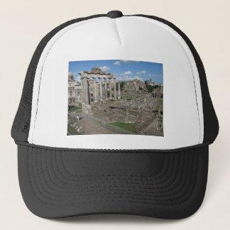 Beskåda av det romerska fora av ANNONS 179 Truckerkeps