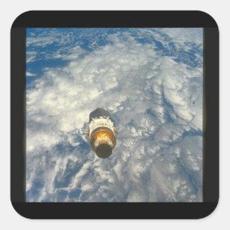 Beskåda av Earth_Spacen Fyrkantigt Klistermärke