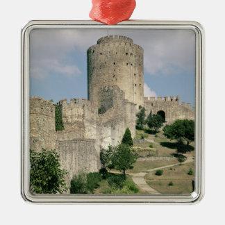 Beskåda av fästningen, startat i 1452 julgransprydnad metall