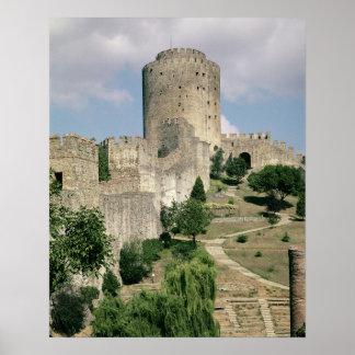 Beskåda av fästningen, startat i 1452 poster