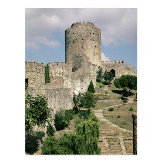 Beskåda av fästningen, startat i 1452 vykort