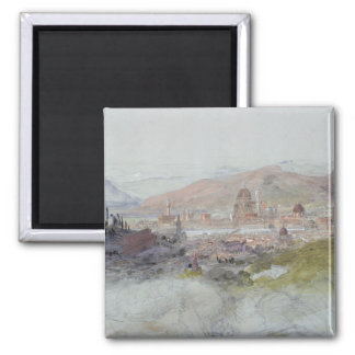 Beskåda av Florence, 1837-39 Magnet