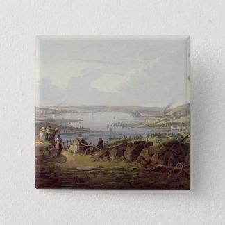 Beskåda av Greenock, Skottland Standard Kanpp Fyrkantig 5.1 Cm