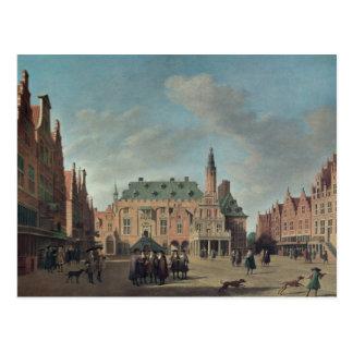 Beskåda av Groten Markt i Haarlem Vykort