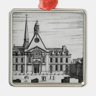Beskåda av Hopital des Incurables Julgransprydnad Metall