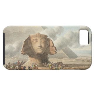 Beskåda av huvudet av sphinxen och pyramiden av tough iPhone 5 fodral