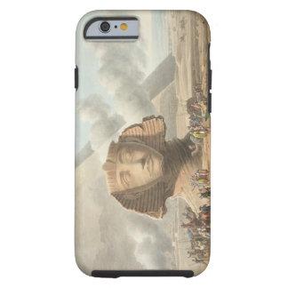 Beskåda av huvudet av sphinxen och pyramiden av tough iPhone 6 case
