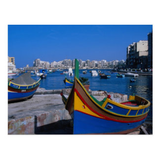 Beskåda av Julian St., Malta Vykort