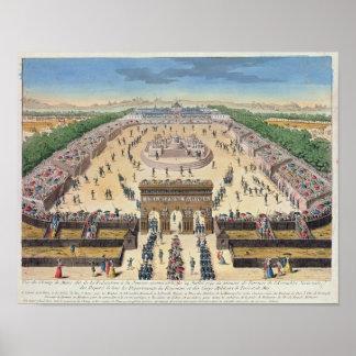 Beskåda av mästarna de Fördärva, 14th Juli 1790 Poster