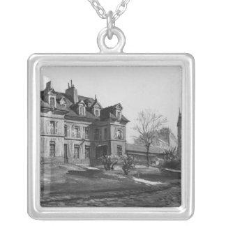Beskåda av Materniten Port-Royal, 1905 Silverpläterat Halsband