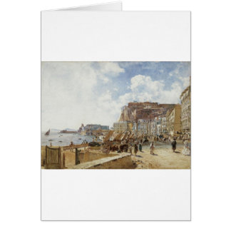 Beskåda av Naples av Rudolf von Alt Hälsningskort
