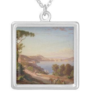 Beskåda av Naples Silverpläterat Halsband