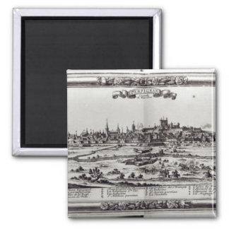 Beskåda av Perpignan, den sydliga frankriket, c.16 Magnet