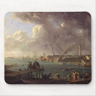 Beskåda av porten av Lorient Musmatta