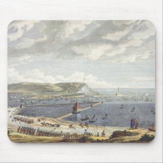 Beskåda av porten och redden av Boulogne på Musmatta