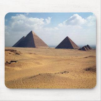 Beskåda av pyramiderna av Cheops Musmatta