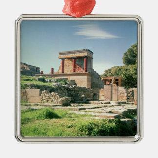 Beskåda av slotten av Knossos Julgransprydnad Metall