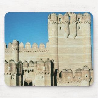 Beskåda av slottet, byggd c.1453 musmatta