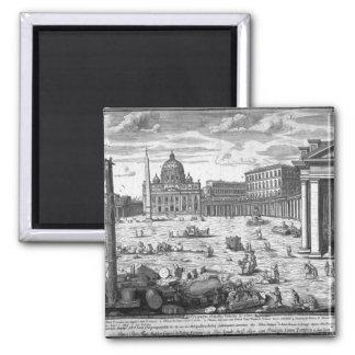 Beskåda av St Peter, Rome Magnet