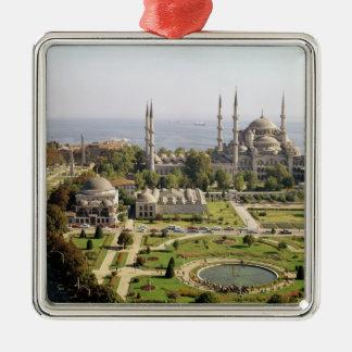Beskåda av sultanen Ahmet som Camii byggde 1609-16 Julgransprydnad Metall