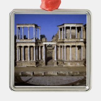 Beskåda av theatren, börjat 24 BC (fotoet) 2 Julgransprydnad Metall
