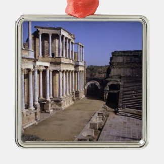 Beskåda av theatren, börjat 24 BC (fotoet) Julgransprydnad Metall