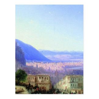 Beskåda av Tiflis av Ivan Aivazovsky Vykort