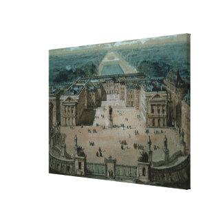 Beskåda av Versailles Canvastryck