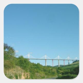 Beskåda av viaducten, avslutat i December 2004 (p Fyrkantigt Klistermärke