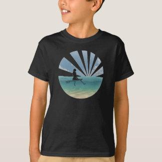 Beskåda från en surfingbräda t shirt