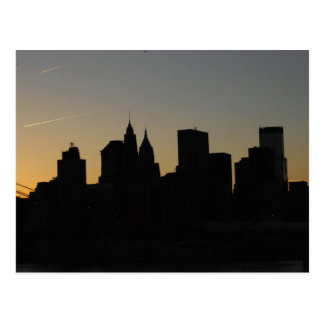 Beskåda från Manhattan överbryggar Vykort