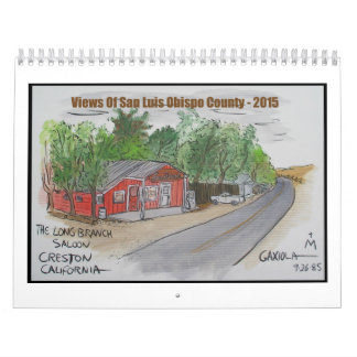 Beskådar av San Luis Obispo County Kalender