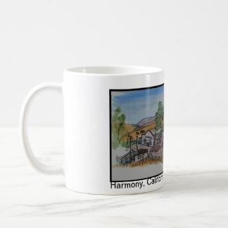 Beskådar av San Luis Obispo, harmoni Kalifornien Kaffemugg