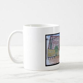 Beskådar av San Luis Obispo, solnedgångdrive-inbio Kaffemugg