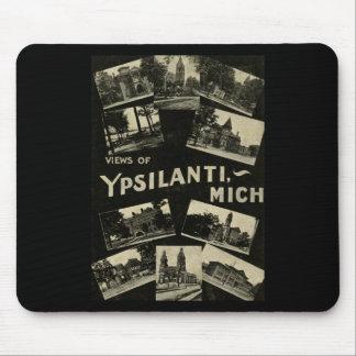 Beskådar av Ypsilanti Michigan - vintage Mus Mattor