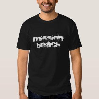 Beskickningstrandutslagsplats, kortärmadT-tröja Tee Shirts