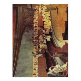 Beskrivningen Cicero skarpt kritisera Catiline: Vykort