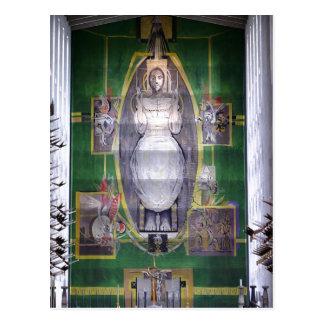 BeskrivningsKristus i härlighet, Graham Sutherland Vykort