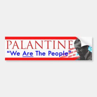 Beslut 2012 röstar Palantine som vi är folket Bildekal